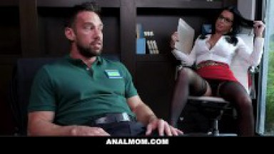 Fucking My MILF Psychologist in the ass
