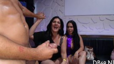 Trying out strippers hard cock - video 10