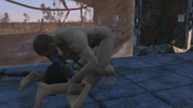Brothel with glass windows. The Work of Prostitutes in Fallout 4   Porno game, lesbian strapon