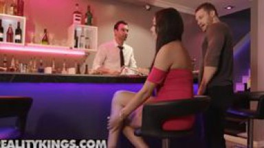 Reality Kings - Black office slut Bethany Benz gets double teamed in bathroom