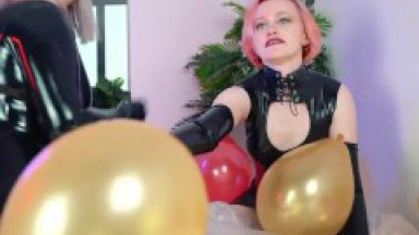 Air Balloon Fetish Compilation Inflatable Looner Fetish Video