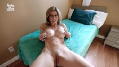 Hot Step Mom Lets Me give Her a Creampie - Cory Chase
